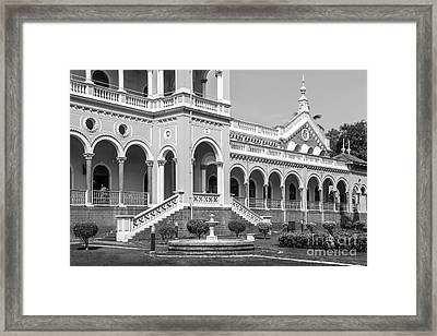 The Aga Khan Palace Framed Print