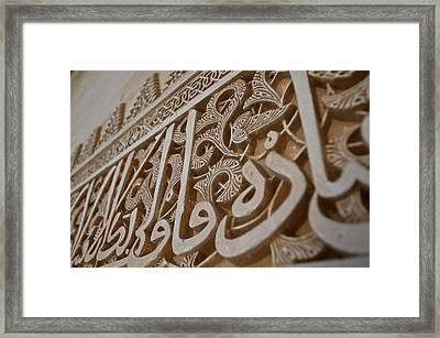 The Alhambra Palace Framed Print