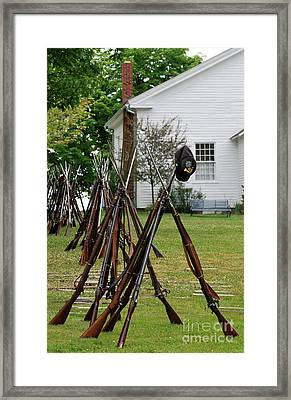 The American Civil War  Framed Print by Lila Fisher-Wenzel