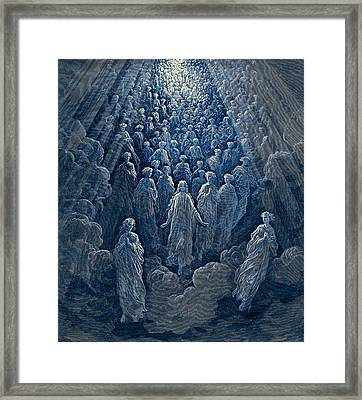 The Angels In The Planet Mercury Framed Print