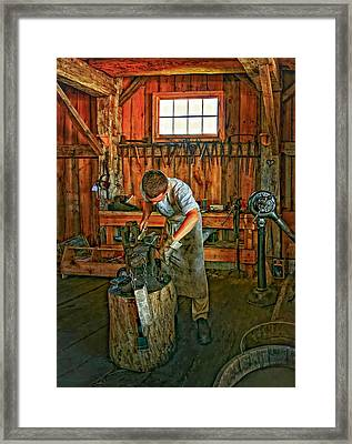 The Apprentice 2 Framed Print