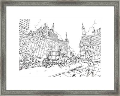 The Bavarian Village Framed Print