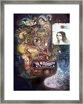 The Beast Of Babylon Framed Print