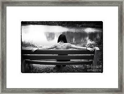 The Beginning Framed Print by John Rizzuto
