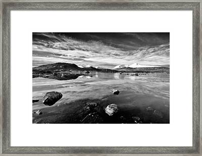 The Black Mount Framed Print