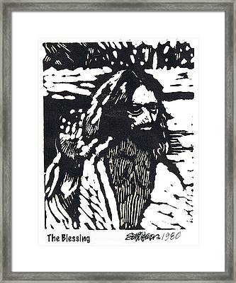 The Blessing Framed Print by Seth Weaver