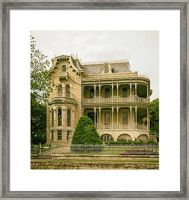 The Bremond House Framed Print by Mountain Dreams