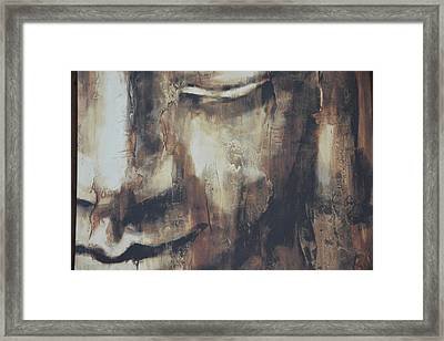 Framed Print featuring the photograph The Buddha by Renee Anderson