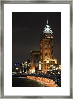 The Bund, Shanghai Framed Print by John Shaw