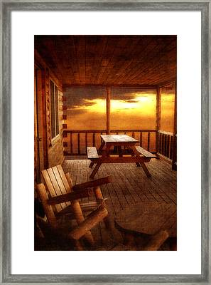 The Cabin Framed Print by Joann Vitali