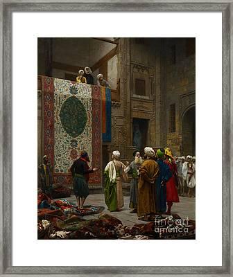 The Carpet Merchant Framed Print by Celestial Images