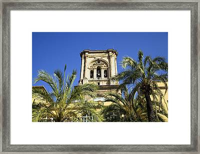 The Cathedral Of The Incarnation Framed Print by John Rocha