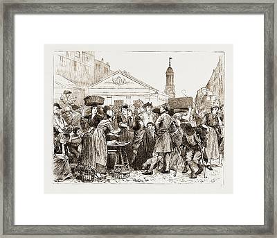 The Chaplain Of The Fleet Drawn By Charles Green Framed Print by Litz Collection