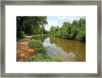 The Chesapeake And Ohio Canal Framed Print by Cora Wandel