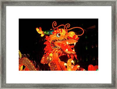 The Chinese Mid-autumn Harvest Festival Framed Print