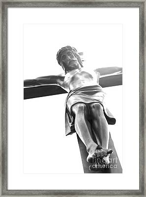 The Crucifixion Framed Print by Sophie Vigneault