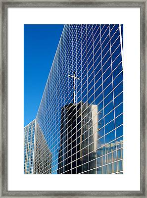 Framed Print featuring the photograph The Crystal Cathedral by Duncan Selby