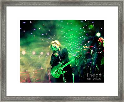 The Cure Robert Smith Framed Print