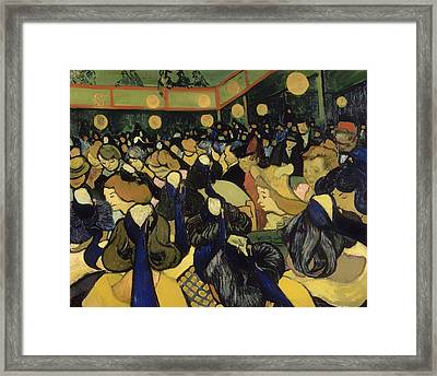 The Dance Hall In Arles Framed Print by Mountain Dreams