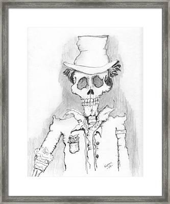 The Dealer Framed Print by Dan Twyman