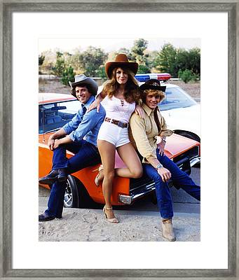 The Dukes Of Hazzard  Framed Print