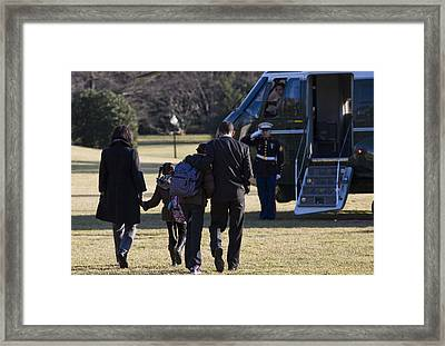 The First Family Framed Print by JP Tripp