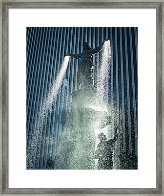 The Genius Of Water  Framed Print