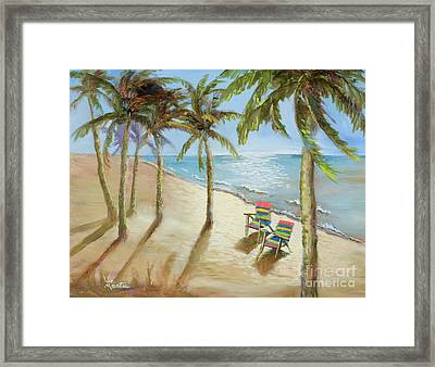 Framed Print featuring the painting The Get-away by Vic  Mastis