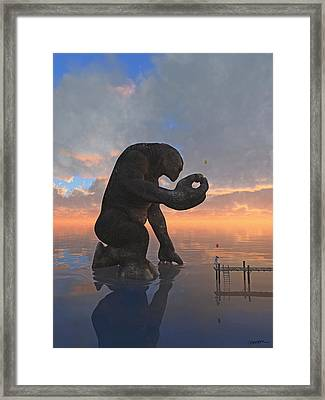 The Gift Framed Print by Cynthia Decker