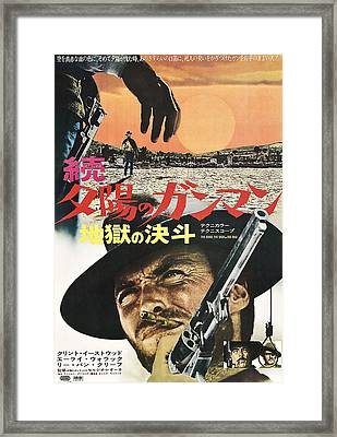 The Good, The Bad And The Ugly Aka Il Framed Print