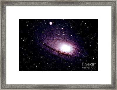 The Great Andromeda Galaxy Framed Print by John Chumack