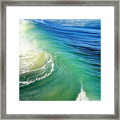 The Great Wave Framed Print by Laura Fasulo