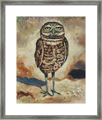 The Guardian Framed Print by Eve  Wheeler