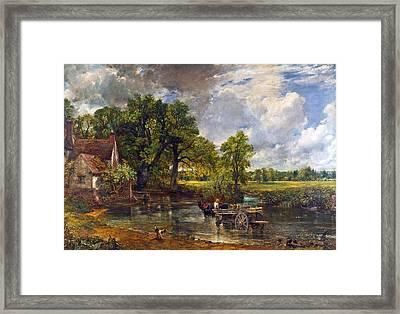 The Hay Wain Framed Print by John Constable