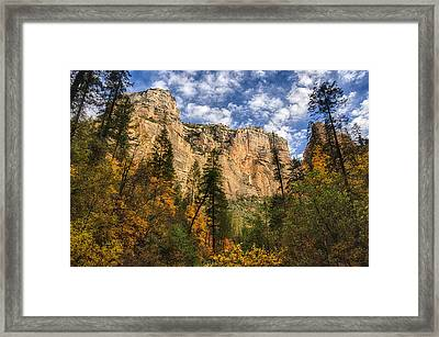 The Hills Of Sedona  Framed Print by Saija  Lehtonen