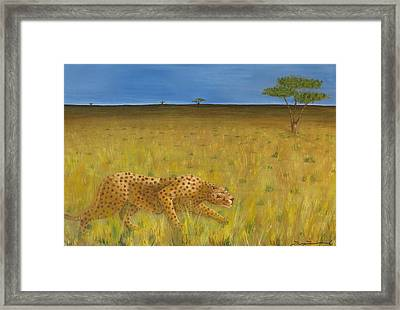 The Hunt Framed Print by Tim Townsend