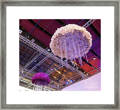 The International Orchid Show In Taiwan Framed Print by Yali Shi