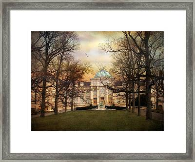 The Library Framed Print by Jessica Jenney
