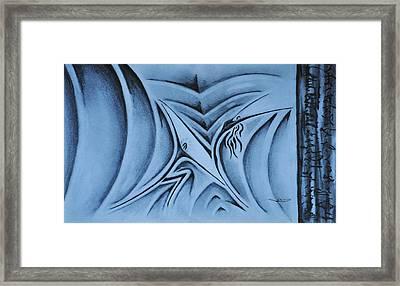 The Lift Framed Print by Matthew Blum