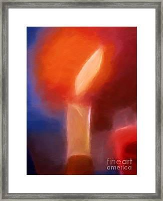 The Light Framed Print by Lutz Baar