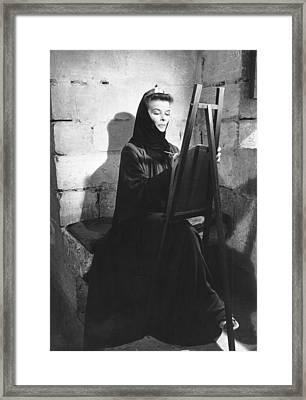 The Lion In Winter, Katharine Hepburn Framed Print