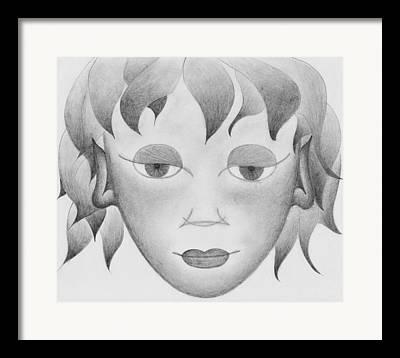 Visionary Drawings Framed Prints
