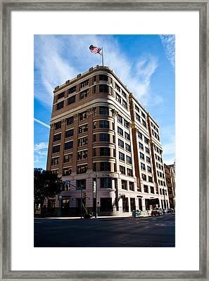The Littlefield Building Framed Print