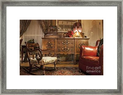 The Lobby Framed Print by Juli Scalzi
