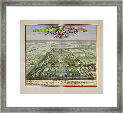 The Lord Of Annaland's Seat Framed Print by British Library