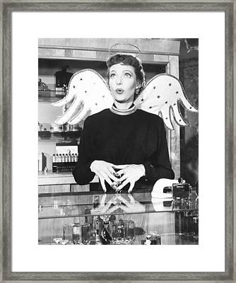 The Loretta Young Show, Aka Letter To Framed Print by Everett