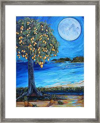 The Mango Tree Framed Print by Patti Schermerhorn