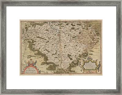 The Mercator Atlas Of Europe Framed Print