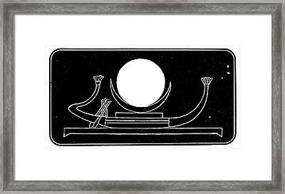 The Moon Framed Print by Granger