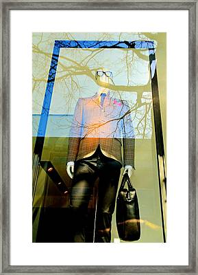 The Office Framed Print by Diana Angstadt